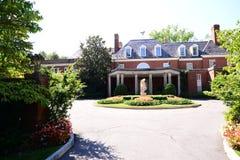 Вход на имущество и сады Hillwood Стоковое Изображение RF