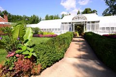Вход сада на имущество Hillwood Стоковое фото RF