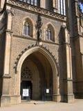 вход собора к Стоковые Изображения