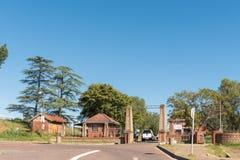 Вход средней школы Estcourt Стоковые Фотографии RF