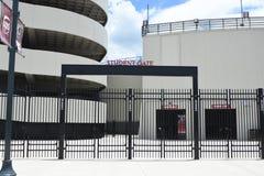 Вход строба студента стадиона Williams Brice, Колумбия, Южная Каролина стоковая фотография rf