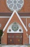 вход церков старый Стоковое Изображение