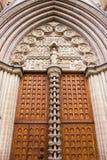 вход церков старый Стоковое Фото