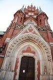 Вход церков St Joseph, Краков стоковые изображения rf