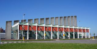 Вход Beneluxtunnel в Роттердам, Нидерланды Стоковое Изображение RF
