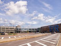 Вход Hancock к терминалу стоковая фотография