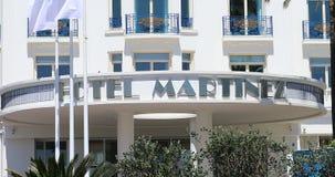 Вход Martinez Канн гостиницы