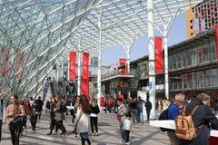 Вход Salone del Передвижн Милана 2017 стоковая фотография