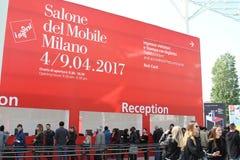 Вход Salone del Передвижн Милана 2017 стоковые изображения