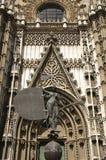 вход seville собора Стоковые Фотографии RF