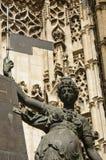 вход seville собора Стоковая Фотография