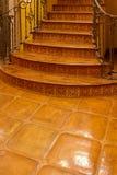 Вход stairway хором домашний нутряной передний Стоковое Фото