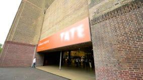 Вход Tate выставки Georgia O'Keeffe современное видеоматериал