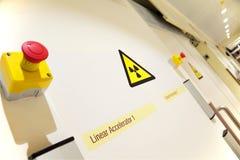 Вход лаборатории онкологии Стоковая Фотография