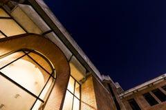Вход библиотеки университета Tsinghua Стоковые Изображения RF