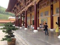 Вход буддийского монастыря Стоковое фото RF