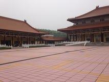 Вход буддийского монастыря Стоковое Изображение RF