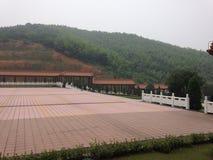 Вход буддийского монастыря Стоковые Изображения