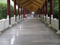 Вход буддийского монастыря Стоковое Фото