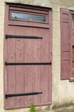 Вход двери амбара Стоковые Фотографии RF
