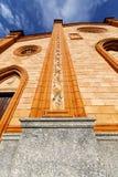 Вход двери Варезе церков Италии виллы cortese Стоковые Фото