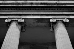 Вход в здание истории в Бирмингеме городском Стоковые Изображения RF