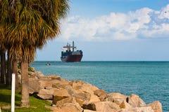Вход в порт Miami Beach Стоковая Фотография