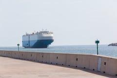 Вход гавани порта океана корабля Стоковые Фотографии RF