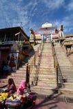 Вход лестницы виска Jagdish Удайпур Раджастхан Индия стоковое изображение rf