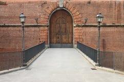 Вход замка стоковые фото