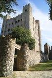 Вход замка Rochester в Англию Стоковое фото RF