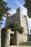 Вход замка Rochester в Англию Стоковое Изображение RF