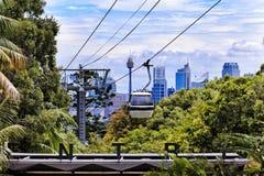 Вход зоопарка Sy CBD Taronga Стоковая Фотография