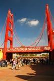 Вход золотого строба, приключение Калифорнии Стоковые Фотографии RF