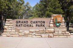 вход каньона грандиозный Стоковая Фотография RF