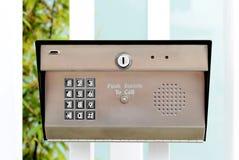 Вход кнопочной панели Стоковые Фотографии RF