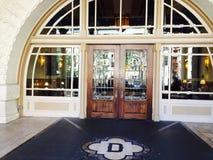 Вход к гостинице Остину TX Driskill Стоковое Изображение