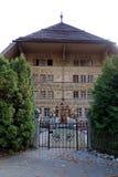 Вход к грандиозному дому Chale Balthus стоковая фотография rf