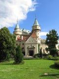 Вход к замку Bojnice, Словакии Стоковое фото RF