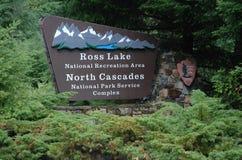 Северный национальный парк каскадов, США стоковое фото rf