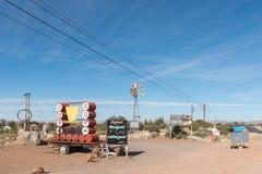 Вход к и доски знака фермы Akkerboom глохнут Стоковое Фото