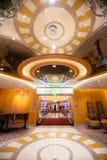 Вход к казино на Cruiseship стоковая фотография rf
