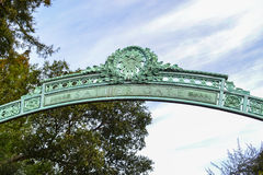 Вход к кампусу коллежа Стоковая Фотография RF