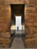 Вход к комплексу покойницкой Djoser на Саккаре (Египет) Стоковые Фото
