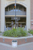 Вход к дому стадиона Doak Campbell футбольной команды Seminoles FSU Стоковое Фото