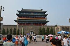 Вход к площади Тиананмен Пекину Стоковая Фотография