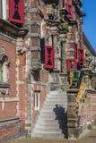Вход к ратуше Bolsward Стоковое Изображение RF