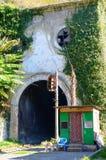 Вход к старому железнодорожному тоннелю Стоковое Изображение RF