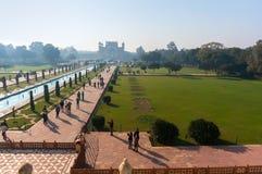 Вход к Тадж-Махалу стоковое изображение
