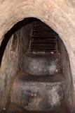 Вход к тоннелю хиа Cu от война США против Демократической Республики Вьетнам (американская война) стоковое изображение rf